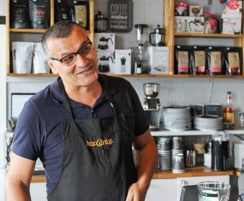 BOND-HEMMELIGHET: Carlos Abdo Monclair, driver hos Carlos.
