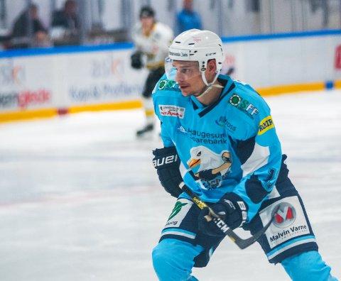 MATCHVINNER: Philip Åman scoret to mål for Seagulls da de lørdag slo Hasle-Løren 6-5 på hjemmebane. ARKIVFOTO: Grethe Nygaard