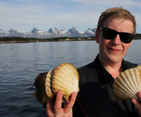 UNG GRÜNDER: Fredrik Nordøy fra Sandnessjøen.