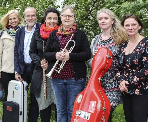 Lunsjkonsert: Deler av Vefsn-ensemblet skal spille lunsjkonserten på Kulturverkstedet fredag. arkivfoto: Benedicte Wærstad
