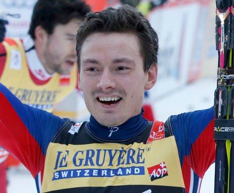 - Deilig å få det til, sier Finn Hågen Krogh etter å ha tatt 2.-plassen i årets Tour de ski.