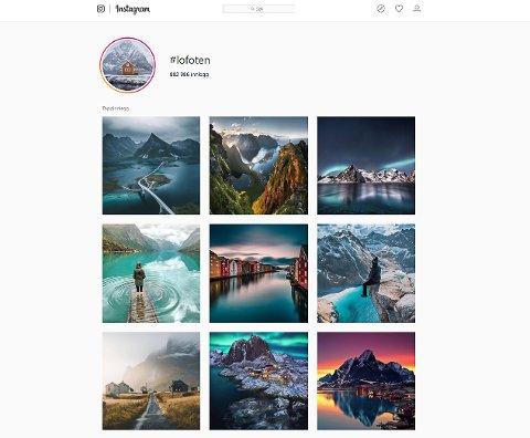 INSTAGRAM: Lofotposten har stor tro på at Norges beste på instagram befinner seg i Lofoten. Nettavisen og mange av avisene i Amedia inviterer nå til tidenes kåring av den beste på Instagram i Norge.