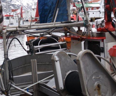 SKADD: En sjarkfisker ble skadd i en arbeidsulykke.