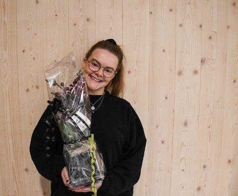FERSK FESTIVALSJEF: Maren Grønli Berg får skryt for innsatsen hun har gjort i forkant av årets Vrimmelfestival.  – Maren er helt fersk og det er beundringsverdig å se hvordan hun har taklet dette, sier Anders Kullerud Skaugen fra Trøndelag fylkeskommune.