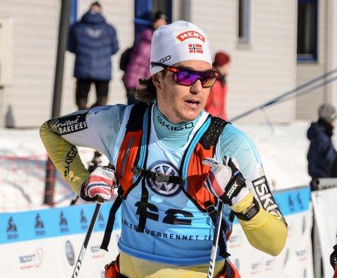 Vetle Thyli var veldig godt fornøyd med avslutningen på Birkebeinerrennet. 20. plass ble det på raufossingen, som har 11. plass som beste plassering i rennet.