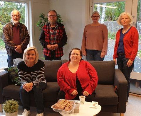 Venstre bak: Arne Imerslund, Torbjørn Andersen, Hilde K Jarlvang, Ingvlid Antonsen