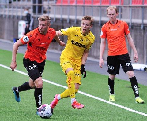 FRA KIL TIL RAUFOSS: Markus Aanesland spilte for Kongsvinger så seint som i fjor. Tirsdag møter han gamle lagkamerater på Nammo stadion.