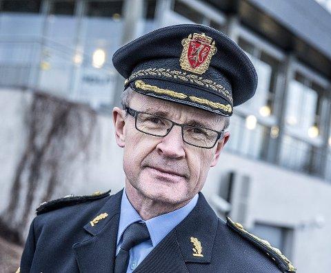 Fristet: Politisjef i Follo Arne Jørgen Olafsen har lyst på den nye sjefsjobben i det nye politidistriktet.