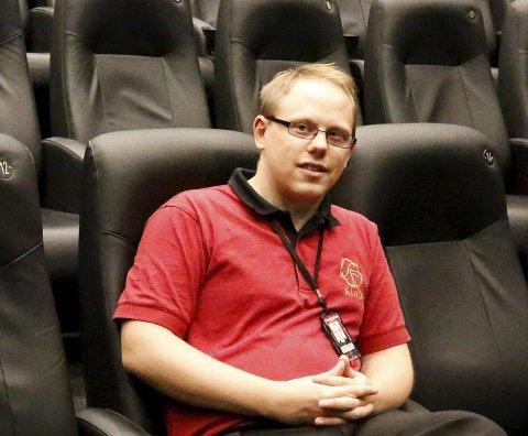 GOD OPPSLUTNING: Kinosjef Alexander Dalen er glad for å ha solgt så mange billetter allerede.