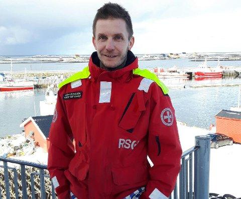 Gleder seg: Skipsfører Andreas Johansen er nå på Røst, og gleder seg til å ta turen til Stavern igjen utpå våren.