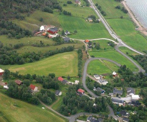 Flyfoto av Alteren for noen år tilbake.