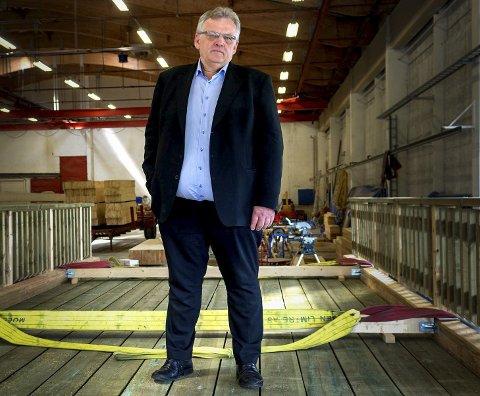 Morten Kristiansen, konsernsjef i Moelven Industrier.