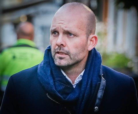 Ordfører Sindre Martinsen-Evje.