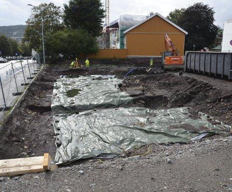 STATLIG STØTTE: Tønsberg Arbeiderparti fremmer forslag om å innføre statlig støtte til arkeologiske utgravinger. Forslaget skal behandles på partiets landsmøte senere i år.