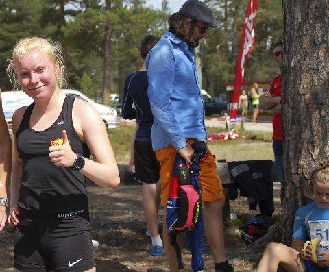 STERKE RESULTATER: Ida Meli Narbuvoll sikret seg to medaljer under helgens junior-NM.