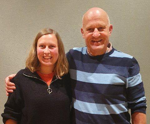 Ingrid Waagen og Arne Magnus Aasen får toppvervene.