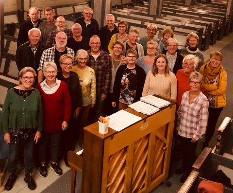 Risør Motettkor har konsert i Risør kirke søndag.