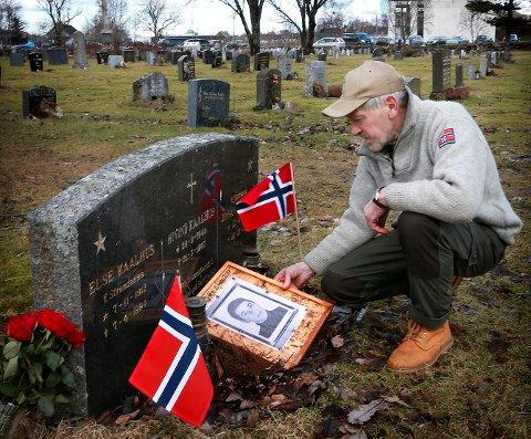 Otto Kaalhus mistet broren Øyvind Kaalhus på Saltfjellet påsken 1967.
