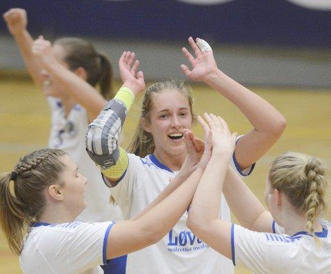 Ida Evjen har vært meget viktig for Junkeren denne sesongen. Denne helga venter Hønefoss og Elverum i sesongens to siste kamper.