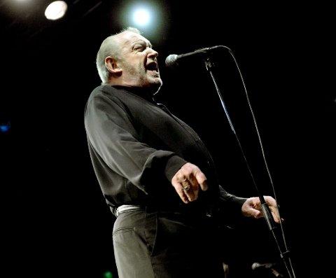 Den største: Mange mener at Joe Cocker har vært den største artisten som har gjestet Gamle Kirkeplass. Foto: Lisa Selin