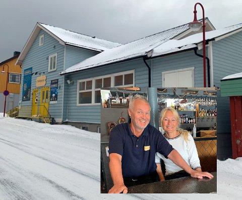 Tore Fosse og Birgit L. Johansen på Perleporten Kulturhus as er i gang med et nytt prosjekt.