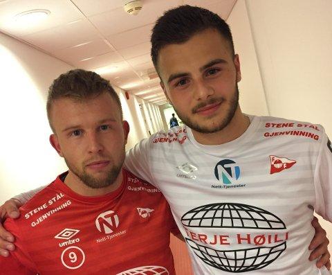 Tim Nilsen og Leo Olsen.