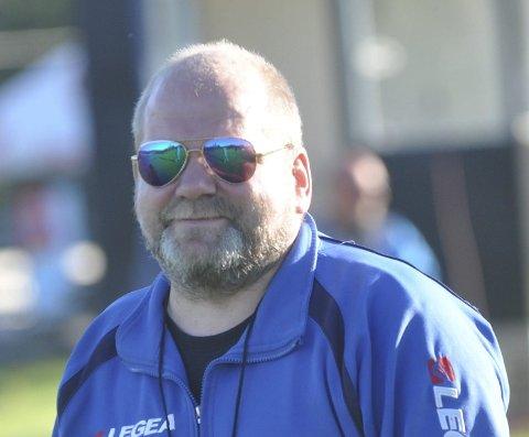 POSITIV: Harestua-trener Vidar Løkken er positiv til en forlengelse av sesongen i 6. divisjon.