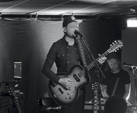 Gleder seg: I forbindelse med albumslippet skal Halvor ha konsert på kulturhuset 20. november og han gleder seg stort til å spille på hjemmebane. FOTO: Frank Morgan Bakken