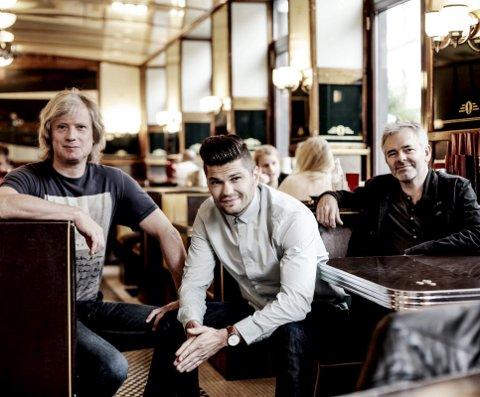 BLEST:  Torbjørn Økland, Paul Hansen og Calle Apeland. 8Pressebilde