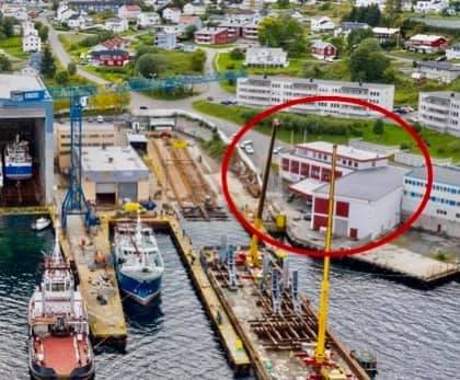 SAMASJØEN: Harstad Skipsindustri overtok onsdag Samasjøveien 26.