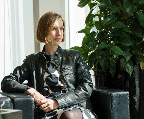FORTSATT USIKKERT: Næringsminister Iselin Nybø (V) påpeker at usikkerheten for næringslivet fremdeles er stor.