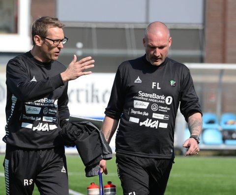 Rene Skovdahl gir seg i HBK, og Frode Lafton tar over som hovedtrener for HBK.