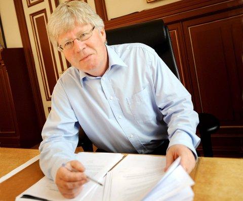 NI SØKERE: Rådgiver i Kontorbygg, Knut Wille, er blant søkerne til stillingen som daglig leder for samme selskap.