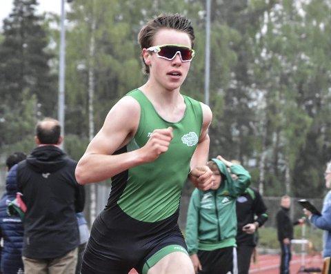 I KVELD: Vebjørn Hovdejord løper en viktig 3000 meter på Nadderud i kveld. Plasseringen er ikke viktig – han er ute etter best mulig tid på 3000 meter.