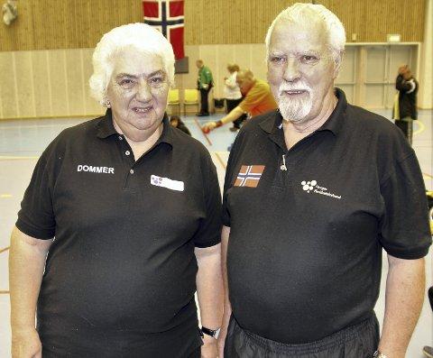 I NM: Ingeborg Enge og Kjell Johansen dømte i NM.