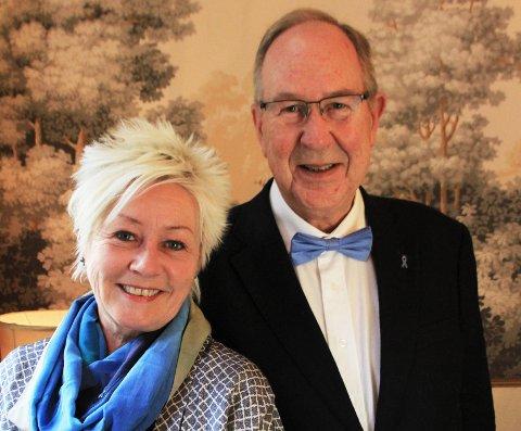 BLÅTT FOKUS: I november håper kreftforeningen at flest mulig støtter aksjonen og seter på seg en Blå sløyfe.