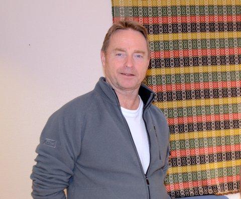 FÅR IKKJE DELE GARDEN: Kjell Håvard Tuv.