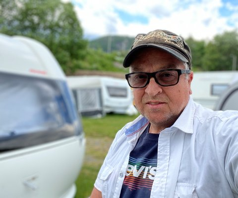 SOMMERSTEVNE OVER TO UKER: Planen er at det blir åpent for campingvogner og stevnegjester under årets sommerstevne i Sarons Dal i sommer. Det opplyser Rune Edvardsen.