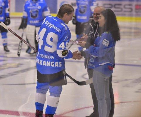 FLEST POENG: Arttu Niskakangas er klubbens poengkonge. Han har fått et nytt liv i Getligaen.