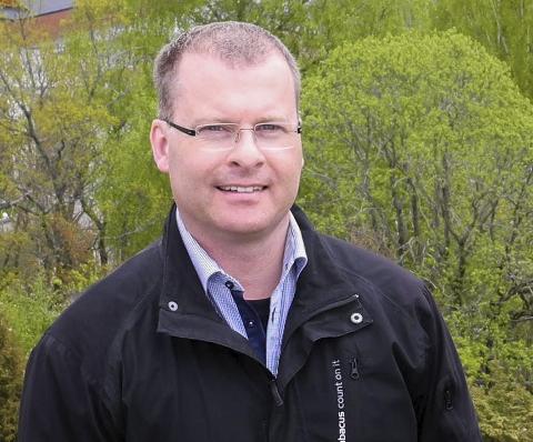 BEHANDLES I JANUAR: Roar Lund (H) opplyser at nye skolegrenser vil være klare og ferdig politisk behandlet i løpet av januar.