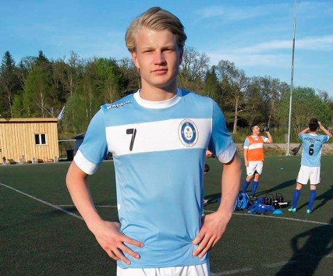 FORLATER HALDEN: Jørgen Sande Johansen har scoret 57 mål på halvannen sesong. Nå er han tapt for Fredrikshald.