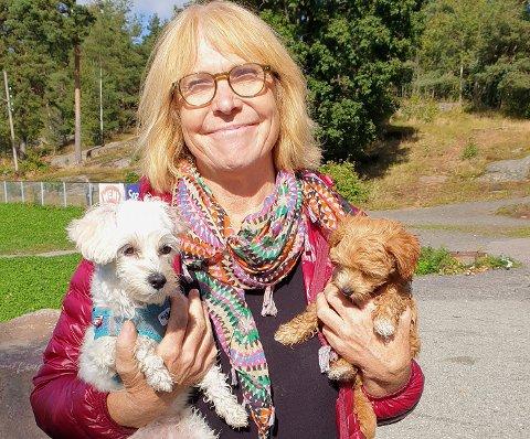 Liv Hanson Ausland passet disse hundene for datteren sin, som driver med oppdrett.