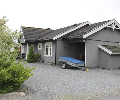 Solgt: Gudimveien 14 er solgt for 2.890.000 kroner.