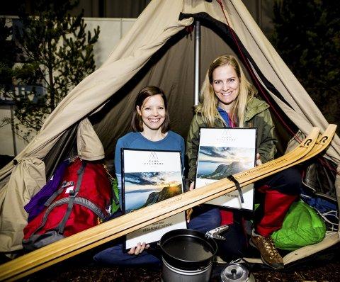 Årets villmarking: Tursøstrene Stine og Hege Schultz Heireng ble kåret til årets villmarking under årets Camp Villmark- messe i Lillestrøm. Alle foto: Tom Gustavsen
