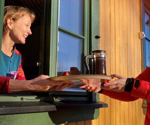 FÅR STØTTE: Stasjonen Spikkestad Café har blitt tildelt 100 000 kroner fra Asker kommunes omstillingsfond.