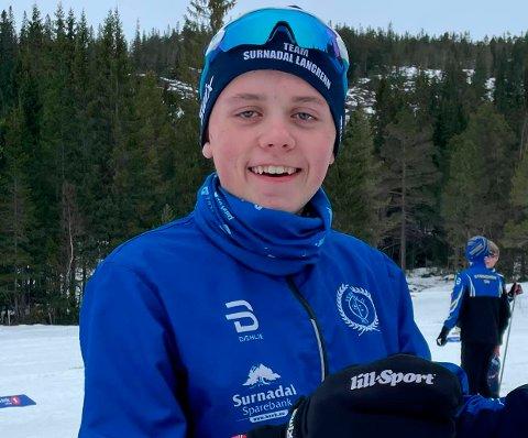 TIL TOPPS: Olav Fugelsøy fra Øvre Surnadal går fort på ski, og gikk til topps under helgas avslutning i SP1-cupen.