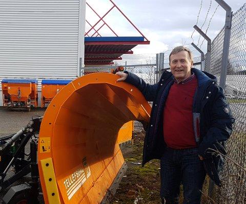 SNUSER PÅ POLEN: Administrerende direktør i ASH NORGE, Vidar Kristensen, bekrefter til AAB at det kan bli aktuelt å flytte deler av virksomheten som i dag ligger på Fiane til Polen.