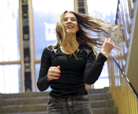 Alice Hugøy har landa den første, viktige avtalen i karrieren. Foto: Heidi Hattestein