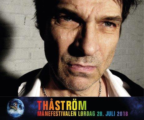 Sterk booking: Et av Sveriges sterkeste rockenavn kommer til Månefestivalen 2018. Thåström spiller lørdag kveld.