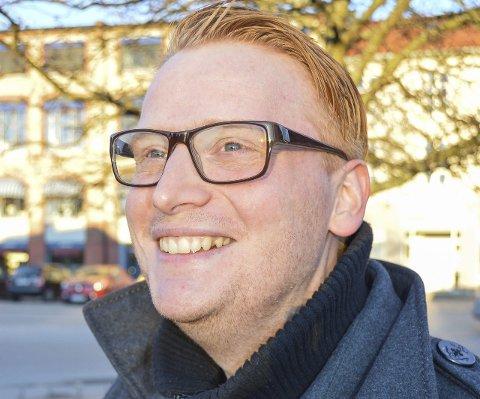 FORUNDRET: Høyres Fredrik Holm synes den interne uenigheten i Arbeiderpartiet er oppsiktsvekkende.